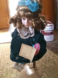 black and white dressed doll Hagerstown, 21742