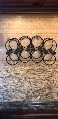 vine bottle rack