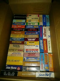 347 vhs, 137 dvds and vhs and dvd player Lockport, 70374