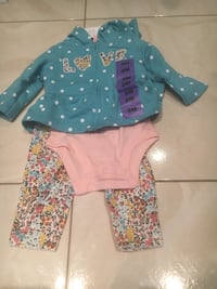Brand new with tags 3 months carters Brampton, L6R 3W1