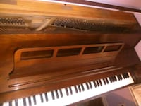 brown wooden framed upright piano Porter, 77365