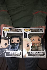 Pop! Game of Thrones characters