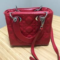 red leather 2-way bag 3154 km