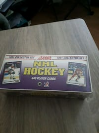 91-92 score hockey set factory sealed  Hamilton, L8H 4A7