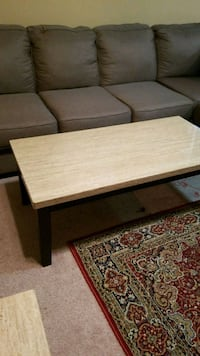 Moving Sale! rectangular brown wooden coffee table Springfield, 22153