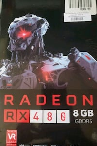 Radeon RX 480 8GB Reference Card