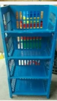 Storage rack, stackable