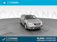 2016 Chrysler Town and Country mini-van Touring Minivan 4D GRAY Brentwood