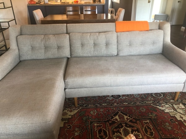 West Elm Crosby Sectional