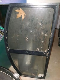 Empty 36 gallon  bow front fist tank