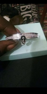 silver and diamond bracelet in box Capitol Heights, 20743