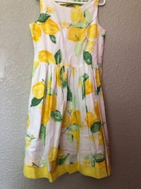 Gymboree lemon dress