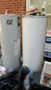 2 40gallon hot water heaters  Columbus