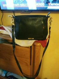 black and brown leather crossbody bag 582 mi