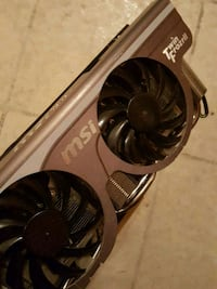 black and gray graphics card Gatineau, J8X 3S2