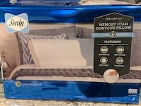 Sealy contour memory foam pillow.