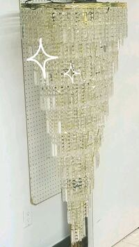 10 tier Real crystal chandelier  Vancouver, V5T 1E4