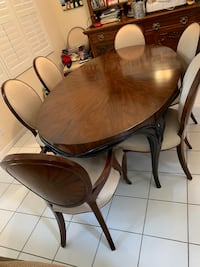 Dining Room Table and 7 chairs