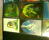 four assorted color of woman paintings Fullerton, 92831