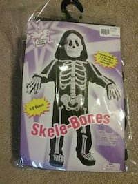 3T Skeleton costume  Newark, 19702