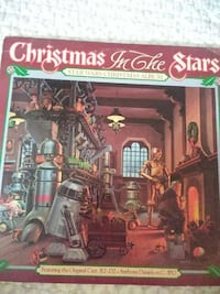 Star Wars Christmas in the stars Christmas record