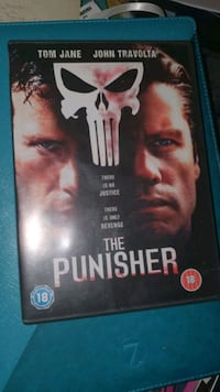 The Punisher DVD John Travolta gratis frakt  Stovner, 0986