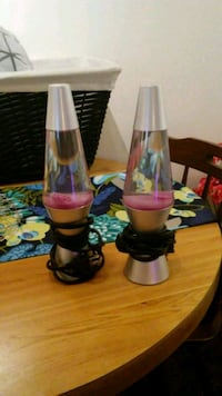 2 new lava lamps. 11 inches tall.  Elyria, 44035