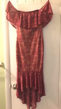 women's red floral dress Hyattsville, 20783