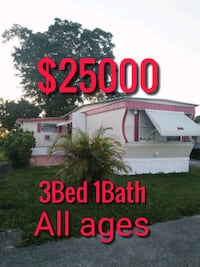 Mobile home or trailer home for sale