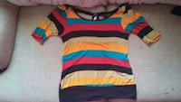 red, blue, and white striped shirt Amarillo, 79106