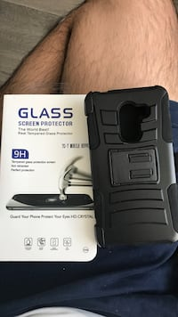 Samsung case and glass protector Surrey, V4A 1B1