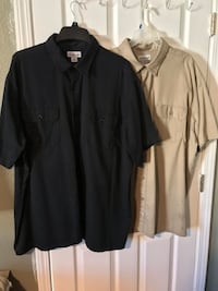 black and gray button up dress shirt Stockton, 95215