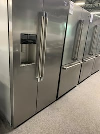 Stainless Steel Side by Side Refrigerator (beko) Taylor, 48180