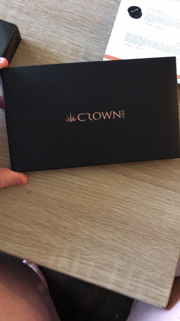 Crown Beauty Fuego Eyeshadow Collection. NEVER USED