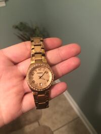 Fossil Watch, definitely worn with a few scratches and tarnishing Chattanooga, 37421