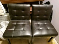 Pair of padded chairs free to good home Calgary, T3K 1H2