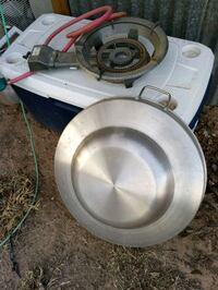 Brand new disco with new burner. Used once.. Dexter, 88230