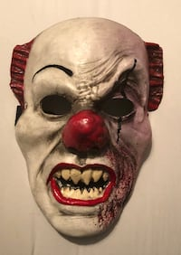 Halloween Cosplay Scary Mask Costume Movie Stephen King's IT Clown Pennywise Glendale