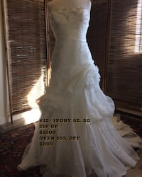 Brand new Wedding Dress  sz 20