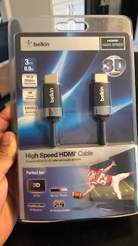 Belkin 3ft high speed hdmi cable Hagerstown, 21742