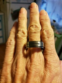 Silver spinner ring size 12 West Valley City, 84119