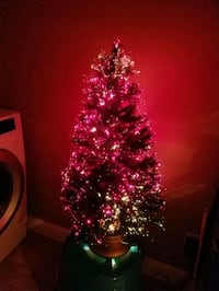 "Christmas Tree 36"" fiber optics Linthicum Heights, 21090"