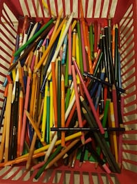 Large batch of pencil crayons and markers Coquitlam