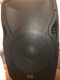 Black and gray subwoofer speaker Long Beach, 90807