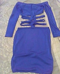 Blue Get'em Girl Dress