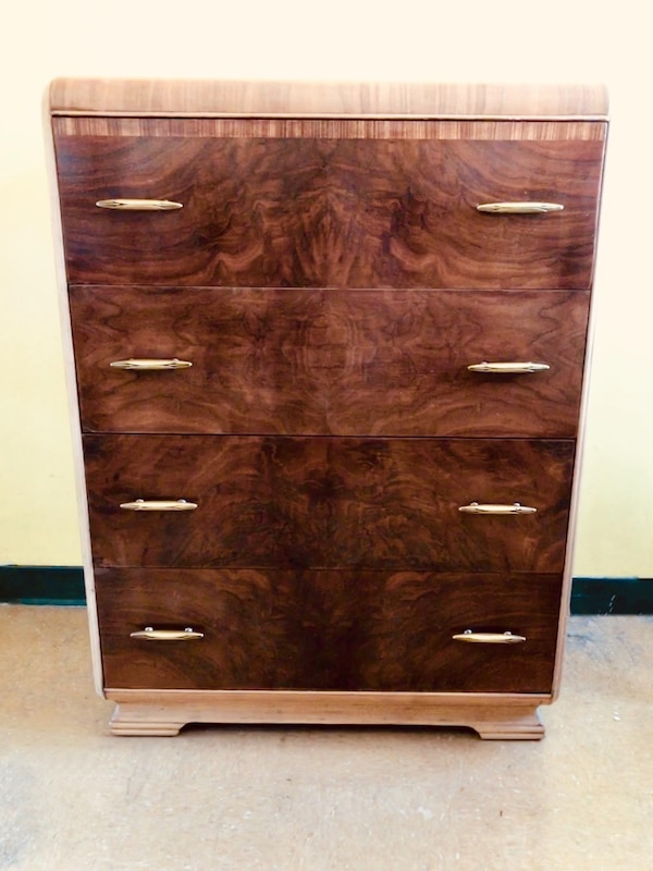 Used Antique Waterfall High Boy Dresser For Sale In Vancouver Letgo