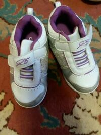 pair of white-and-pink Nike velcro shoes Poughkeepsie, 12601