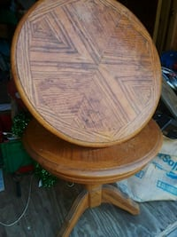 round brown wooden side table Rogersville, 37857