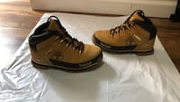 pair of brown-and-black Nike sneakers Burnaby, V5C 2J6