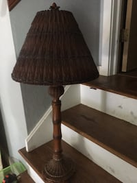 Bamboo Lamp Perfect for the screened in porch Chesapeake, 23322